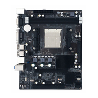 New 216*168mm Desktop A780 Computer Motherboard 4*SATA2.0 2DDR2 4GB Ram PC Mainboard Double Channel DVI VGA Suppotr For AMD AM2