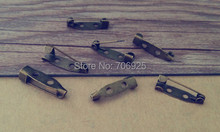 200pcs /lot Antique bronze Pin Backs accessories 5mmx20mm