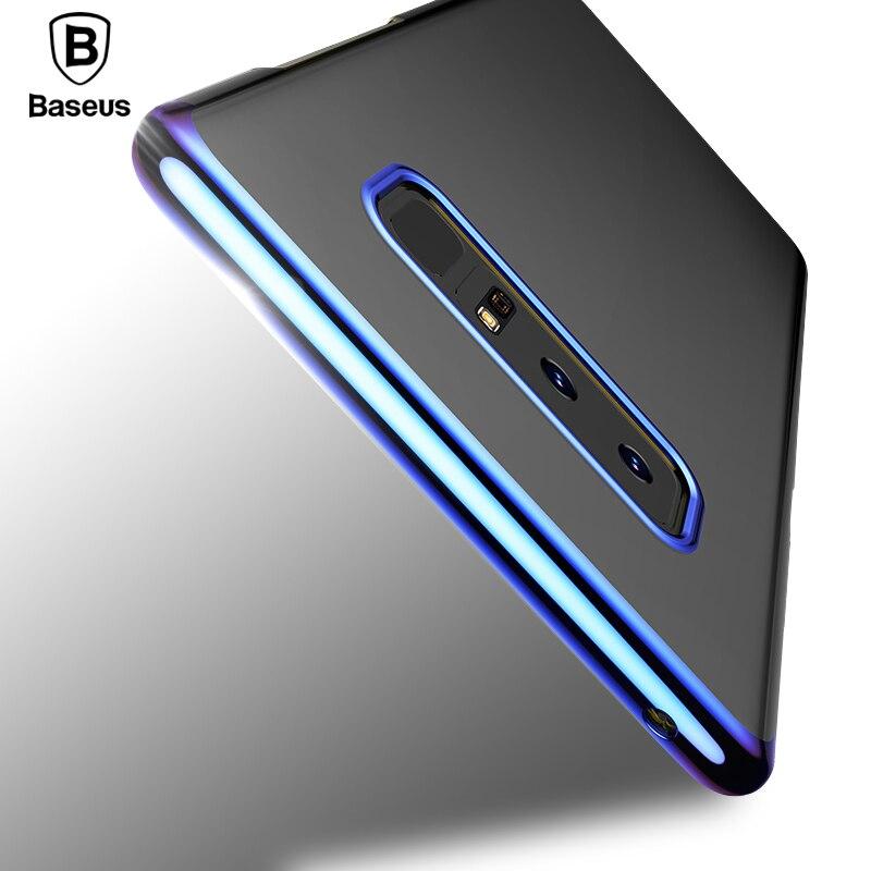 Baseus Glitter Fall Für Samsung Galaxy Note 8 Capinhas Luxuxüberzug harte PC Zurück Abdeckung Für Galaxy Note8 Capa Shell Coque Funda