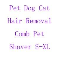 Profesjonalne Pet Grooming Grzebień różnych Kolorach dla Kotów i Psów Długość Włosów Usuwania Włosów Grzebień S-XL Darmowa Wysyłka