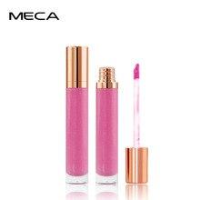 MECA 7 цветов перламутровая стойкая Увлажняющая помада Водонепроницаемый Жидкий блеск для губ красота макияж Пигмент