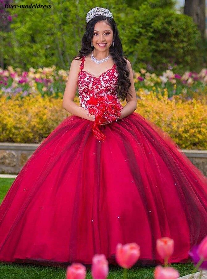 Robes de Quinceanera magnifiques robes de bal longueur au sol dentelle Appliques perlées à lacets dos robes de fête d'anniversaire 16 robes douces