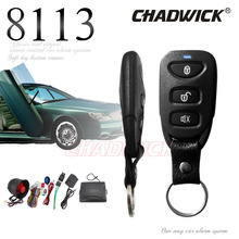 Universal car alarm system auto security kia style buttons thin remote controller central door lock unlock signal  CHADWICK 8113