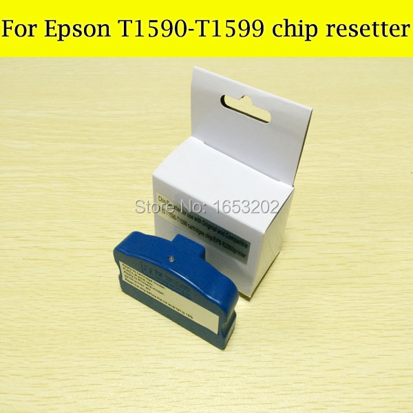 1 Pieces T1590-T1599 Chip Resetter For Epson R2000 Ink Cartridge cs dx18 universal chip resetter for samsung for xerox for sharp toner cartridge chip and drum chip no software limitation