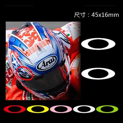 Popular Helmet Visor StickersBuy Cheap Helmet Visor Stickers Lots - Motorcycle helmet visor decals
