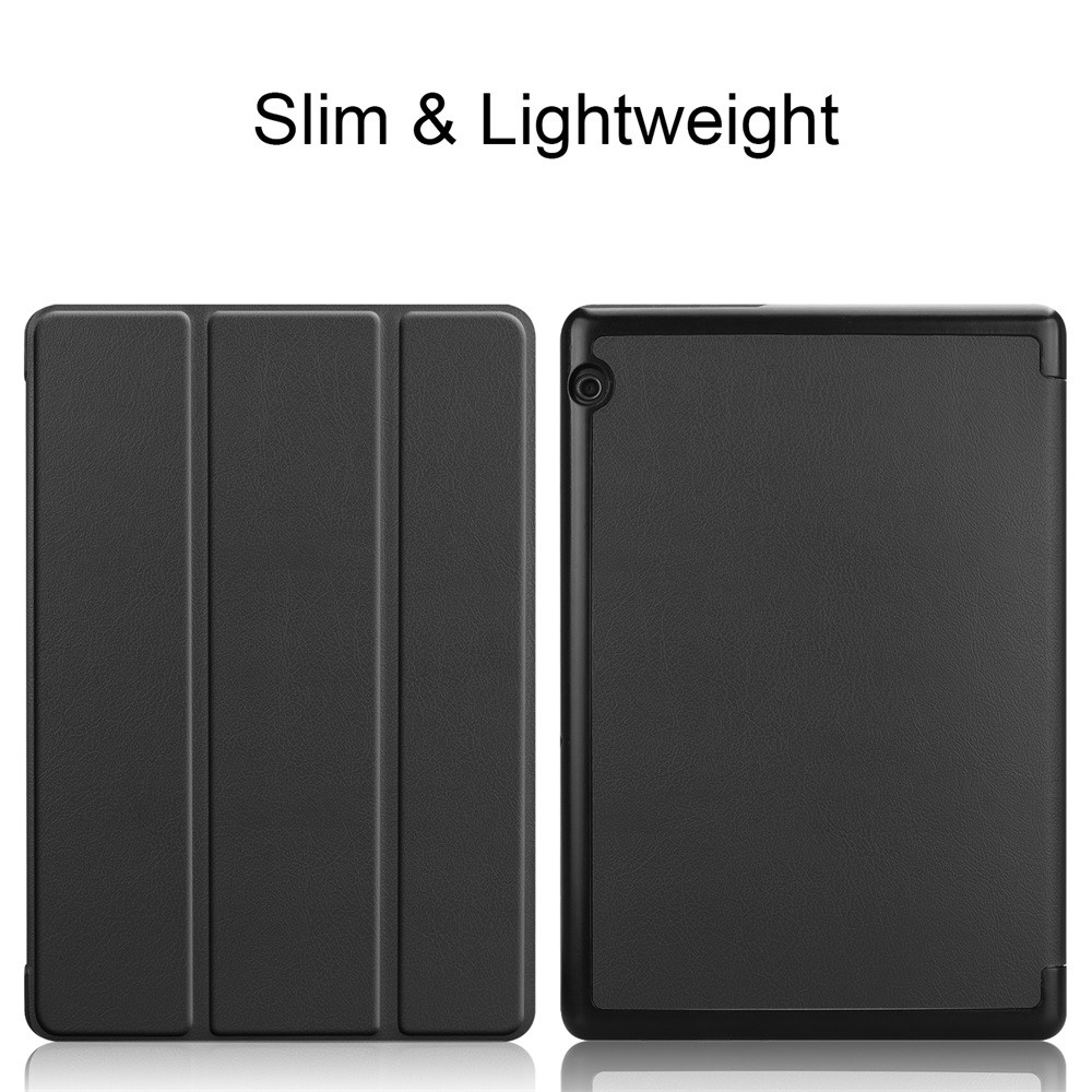 Smart Magnetic Trifold Leather Flip Case Stand Cover For Huawei Mediapad T5 10Inch 9.26