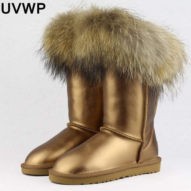 UVWP Free Shipping Fashion Women Snow Boots Woman Boots Warm Winter . 97a7102cf858