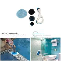Hurricane Muscle Scrubber Electrical Cleaning Brush for Bathroom Bathtub Shower Tile KM88