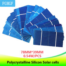 20/50Pcs optional Photovoltaic  Polycrystalline Solar Cells Panel DIY Battery Charger For electronics