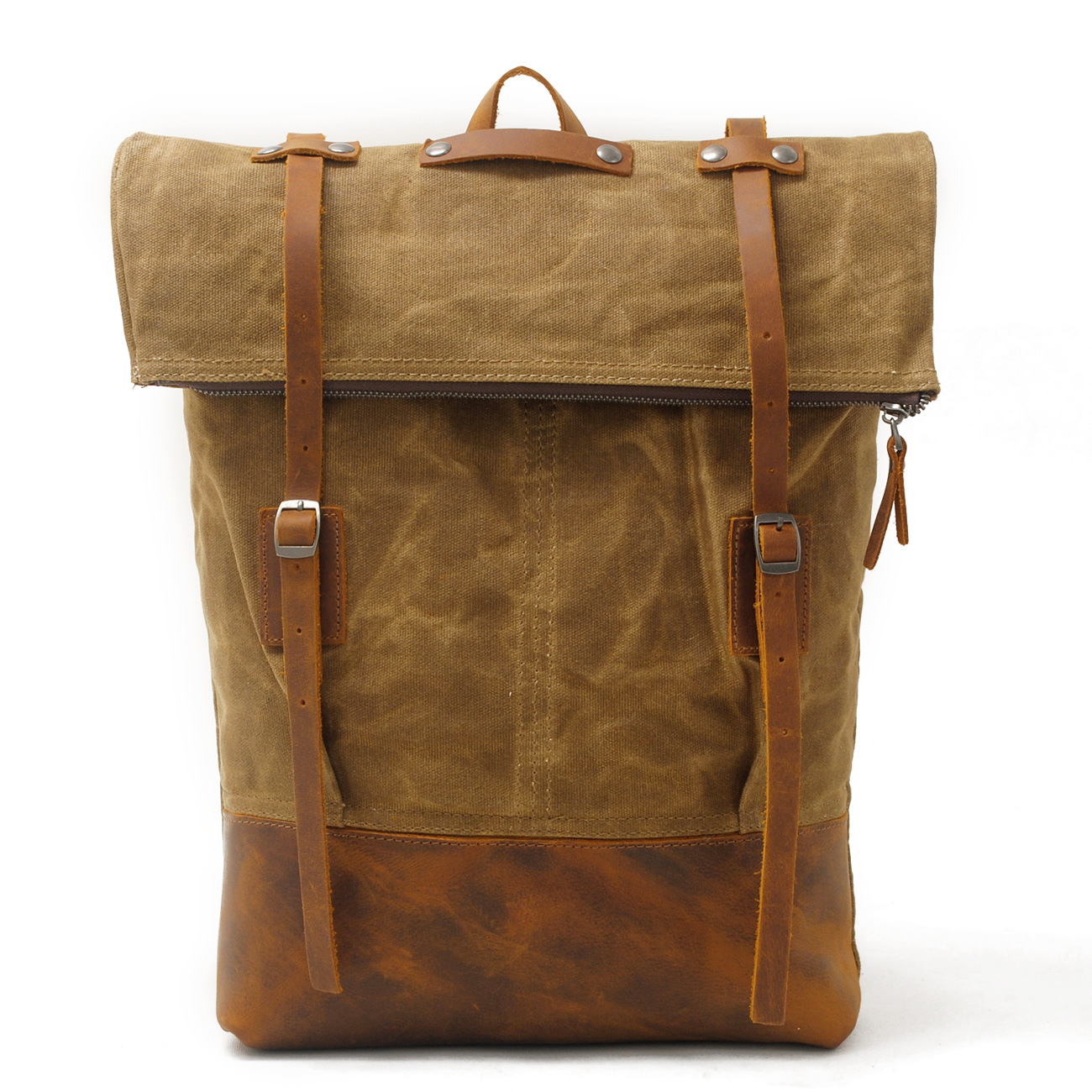 Canvas Shoulder Bag men's leisure backpack batik out door travel bag with head Luxury Cowboy Oil Skin Leather Bags Daypack free shipping 2014 boom bag leisure contracted one shoulder bag chain canvas bag