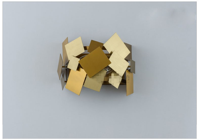 Stainless Steel Square Wall Lamp 20