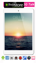 IBOPAIDA 7.8 inch cell phone IPS 3G MTK8312 1.3GHz 8GB GPS GSM WCDMA Tablet Pc