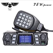 Brand New QYT KT-980Plus Pantalla Walkie Talkie de Banda Dual Quad para el Coche Estación de Radio de Dos Vías Con Pantalla Libre gratis