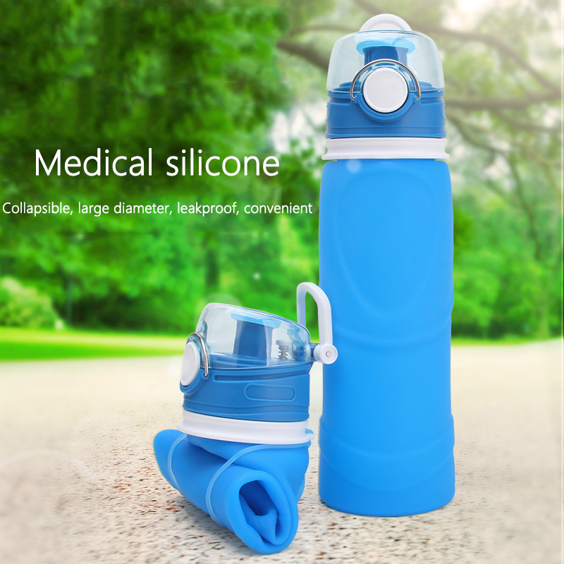 750ML Silicone Folding Water…