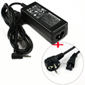 EU Cord + 19V 2.1A AC Power Adapter For Asus Eee PC 1001 1001P 1005 1005HAB 1008HA 1011PX 1015PW 1015PX 1015PEB 1005HA 1005PE