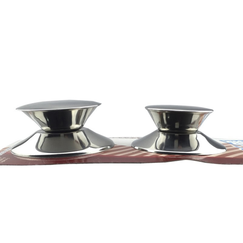2Pcs/Set Replacement Stainless Steel Pot Lid Knobs 4