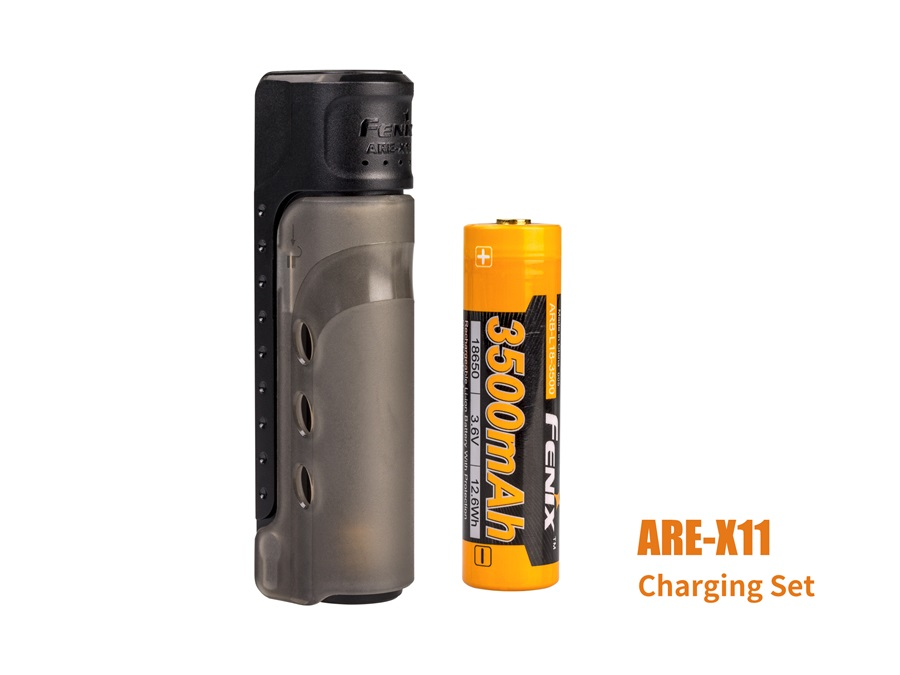 купить 2018 New Fenix ARE-X11 CHARGING KIT USB charging ARB-L18-3500 18650 Li-ion battery недорого