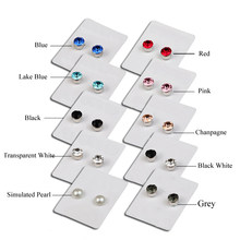Colorful Zircon Magnetic Stud Earings For Women Men Baby No Piercing  Crystal Ear Studs Jewelry No Ear Hole Small Magnet Earrings 3bcefa2b7a55