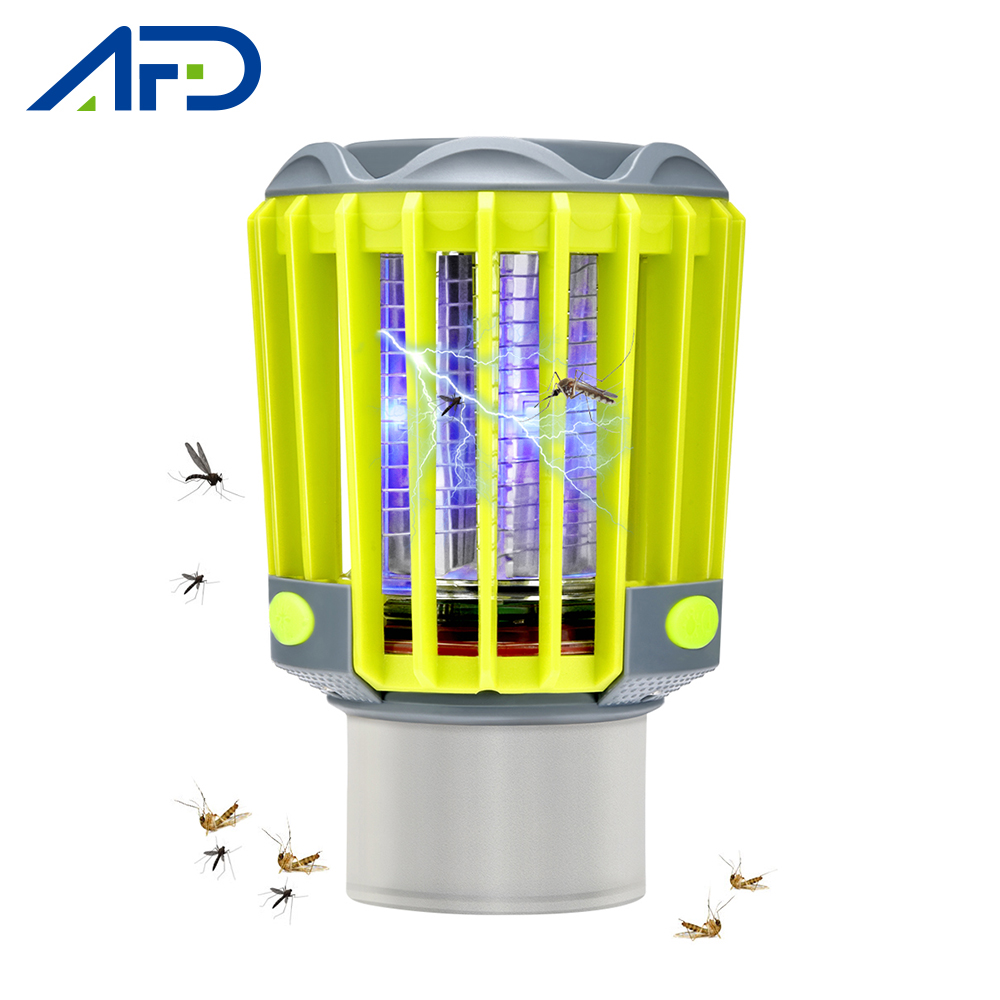2019 New 3IN1 Rechargeable Electronic Mosquito Killer Lamp IP67 Waterproof Camping Light Outdoor Mosquito Killer Anti Mosquitos
