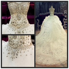 QUEEN BRIDAL Custom Made Ball Gown Wedding Dresses