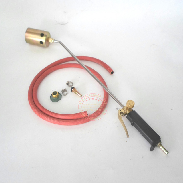 Fire gun Butane Gas Blow Torch Soldering Weld Gun Iron Lighter Burner Fire Flame Starter shrinking gun