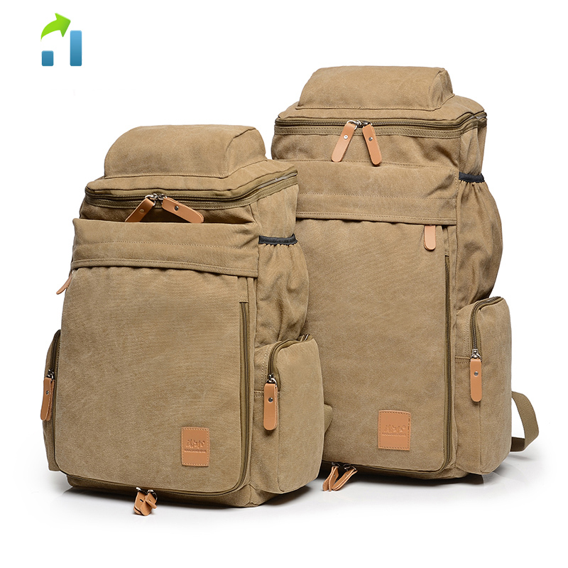 Fashion Canvas Backpack Casual Casual School Backpacks Travel Bag Bag Large Capacity