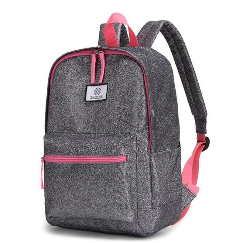 Stylish Women Backpack Laptop Tablet Ipad Books Bags Children Kids  Schoolbag Men Female Travel Shoulder Bag Casual Backpacks-in Backpacks from  Luggage ... 9020651ede7a3