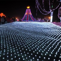 4*6M 750 Led Net String light AC220V Led Curtain Twinkle Lamp Garland Wedding Party Christmas decoration holiday lights