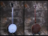 Starshine 5 Strings Banjo Sapele Back&side Traditional Western Concert Bass Guitar For Musical Stringed Instruments