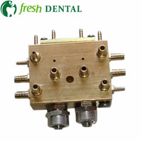 4PCS Dental cabinet integrated valve Chassis water air Integrated valve dental equipment dental chair accessories SL1234