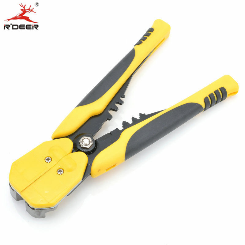 RDEER Crimping Tool Automatic Wire Stripper 0.2 6mm Cutting Pliers ...