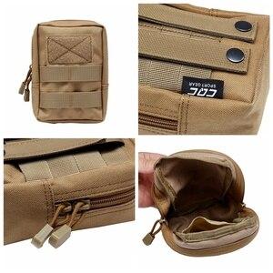 Image 3 - Sac extérieur EDC multi fonction poche tactique militaire Portable outil Durable Molle poches à glissière accessoires