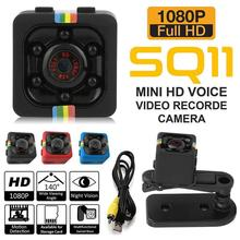 Mini Camera 1080P Full HD Night Vision Camcorder Car DVR Video Recorder Sport Digital Camera Support TF Card DV Camera mool sq8 mini dv camera 1080p full hd car sports ir night vision dvr video camcorder