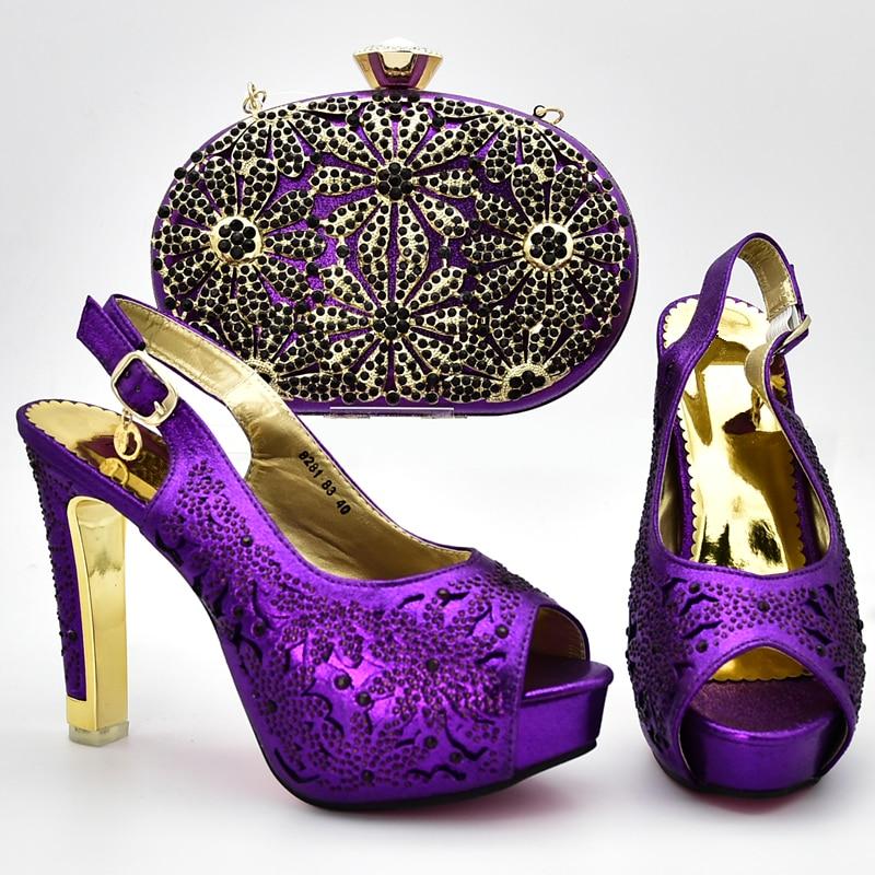 Con Bolsos oro En Para Moda Diseñadores Azul Bolsa púrpura Juego black De Lujo Nuevos Mujer Y Boda Las Mujeres A Italiano Zapatos Italia Wqn6OPxcR