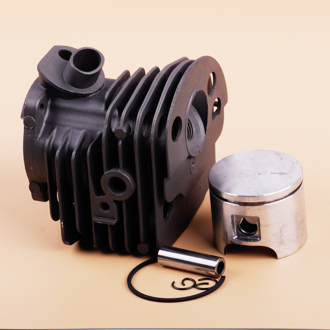 LETAOSK New 46mm Cylinder & Piston Kit 503 60 91 71 Tool Fit For Husqvarna 50 51 5555 Chainsaw