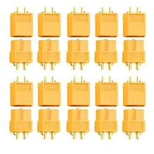 10pairs/lot XT60 Connector Plug Male Female for Battery Quadcopter Multicopter Battery ESC Power Module FPV(China)