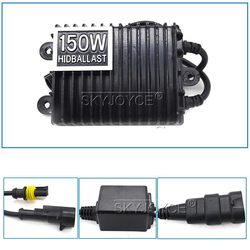 SKYJOYCE 12V 75W 100W 150W AC Digital Electronic Ballast Blocks for Xenon Headlight Lamp H1 H3 H7 H11 9005 9006 HID Xenon Bulb (10)