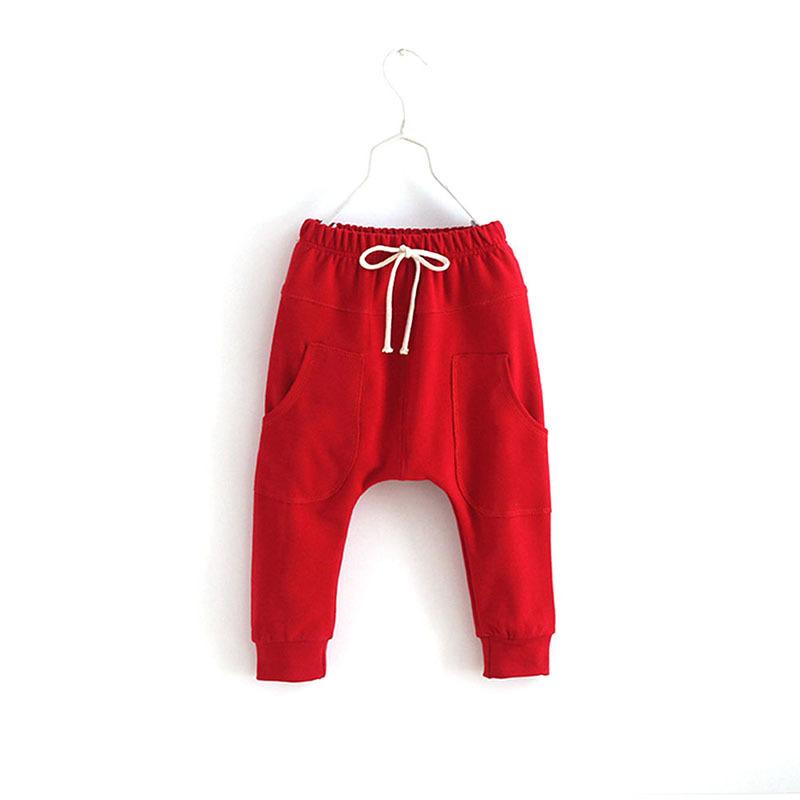Girl Sports Trousers Toddler Children Jersey Harem Pants Baby Boy Jersey Bottoms