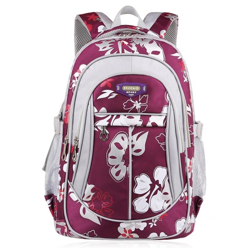 School Bag For Girls Zipper Kid Backpack Fashion Satchel Shoulder Bags Backpack