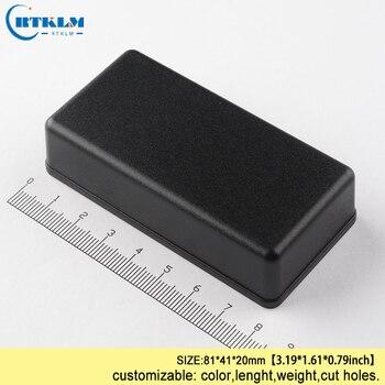 цена на ABS junction box IP54 plastic project case plastic enclosure for speaker box diy design small electric box 81*41*20mm
