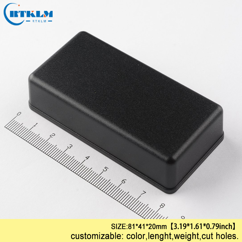 ABS Junction Box IP54 Plastic Project Case Plastic Enclosure For Wire Connectors Box Diy Design Small Electric Box 81*41*20mm