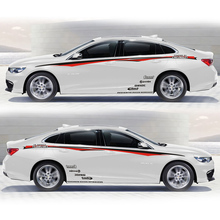 World Datong car styling sport sticker For Chevrolet CRUZE Malibu Mark Levinson body stickers and decals auto