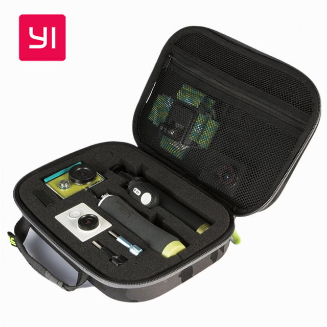 Оригинал YI Аксессуары Легкий Мешок Хранения EVA Пены Коллекция Путешествий Чехол Коробка для Xiaomi YI Действий Камеры