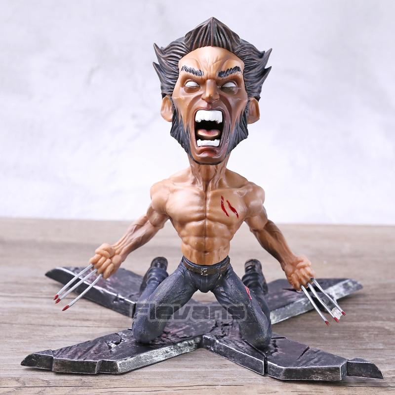 Marvel X-men Wolverine Logan GK Statue PVC Figure Collectible Model Toy Brinquedos Marvel X-men Wolverine Logan GK Statue PVC Figure Collectible Model Toy Brinquedos