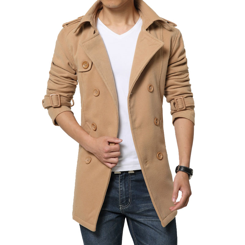 special discount of aesthetic appearance women M 5XL 2018 Brand Peacoat Winter Mens Jackets And Coats Mens ...