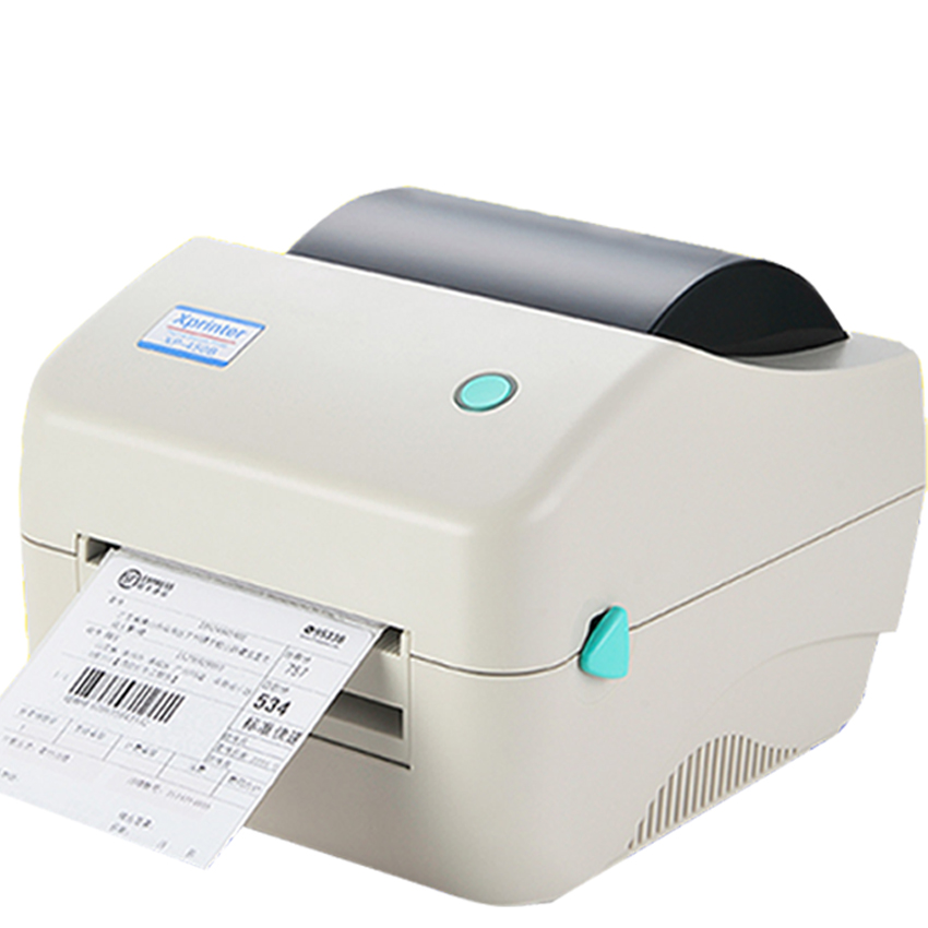 XP-450B 108mm max width Direct Thermal barcode lable printer to print shipping mark etiqutadora with paper roll stand flsun 3d printer big pulley kossel 3d printer with one roll filament sd card fast shipping