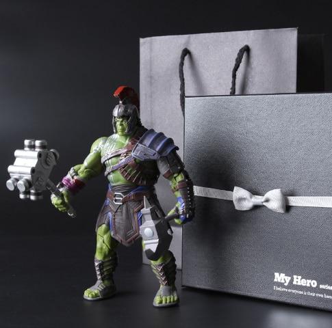 Hulk Thor 3 Ragnarok Robert Bruce Banner PVC Action Figure Collectible Modelo Toy 20 cm 104