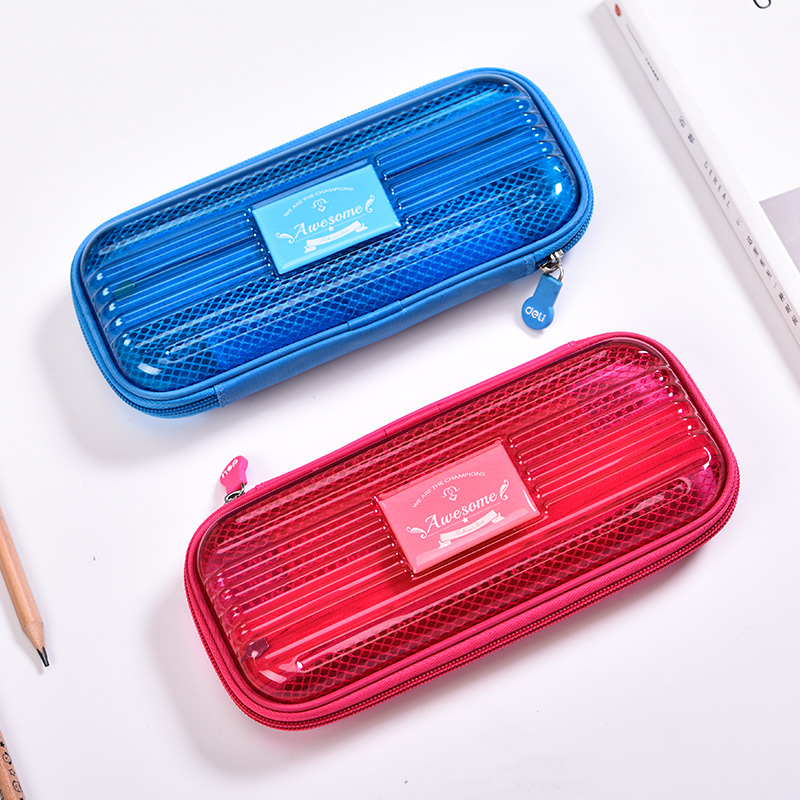 Student Multilayer Stationery Pencil Box Simple Large Capacity Stationery School Supplies Pencilcase Pencil Cases School Tools noverty large capacity multifunctional canvas pencil cases boys girls stationery bags for school supplies material escolar 04803
