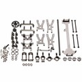 WLtoys 1/18 1:18 A949 A959 A969 A979 K929 Upgraded Metal Parts Kit Gray Color