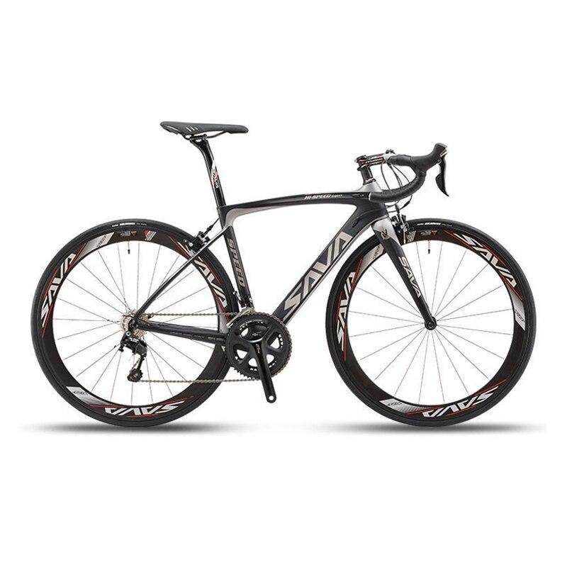 Sava 700c Road Bike T800 Carbon Fiber Frame 50mm
